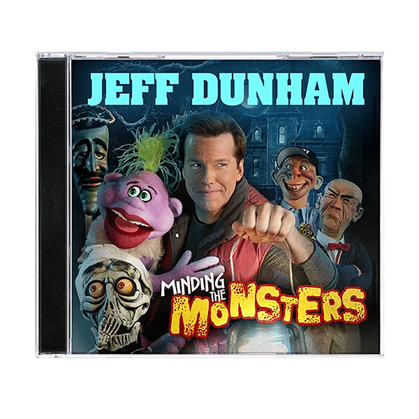 *NEW* Jeff-Dunham All Over Map DVD