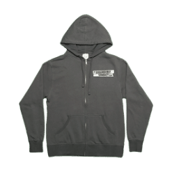 Disorderly Lineup Zip Hoodie