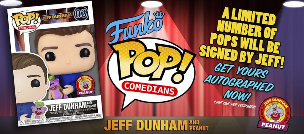 Jeff Dunham Funko Pop