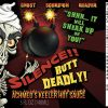 ACHMED HOT SAUCE LABEL